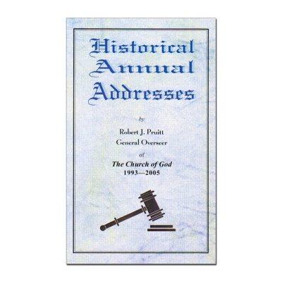 Historical Annual Addresses - 1993-2005