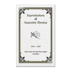 36th-38th Assembly Minutes (1941-1943)
