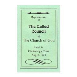 The Called Council of The Church of God