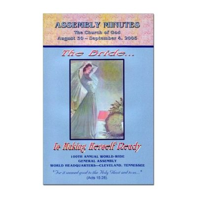 100th Annual Assembly Minutes (2005)