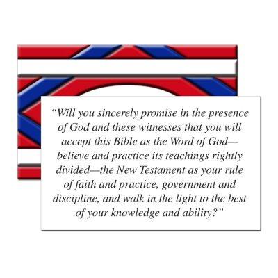 Membership Covenant Card