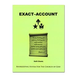 Exact-Account Refill Sheets