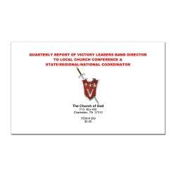 VLB Report Book