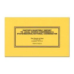 Pastor's Report Book