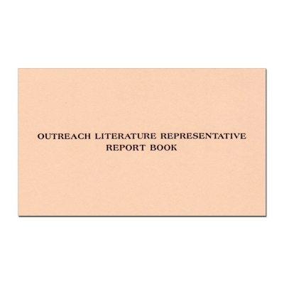 Outreach Literature Report Book