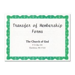 Membership Transfer Forms