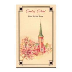 Sunday School Class Record Book